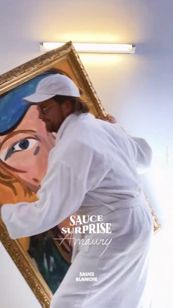 SAUCE SURPRISE - SAUCE BLANCHE - AMAURY PARIS 8